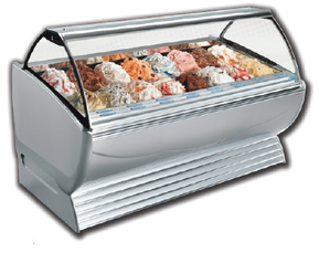 Stoelting New Dinamica Gelato Display Cases