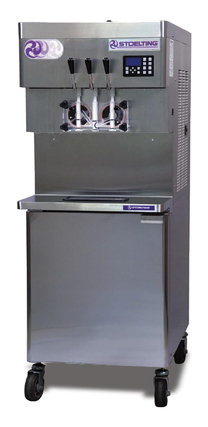 Stoelting U431 Ultra High Capacity Twin Twist CAB Pressurized Soft-Serve Ice Cream or Frozen Yogurt Freezer