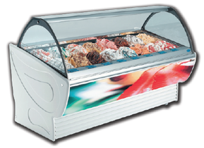 Stoelting Sprint Line Gelato Display Cases