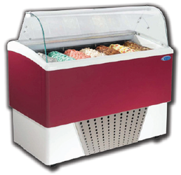 Stoelting Brio Line Gelato Display Case