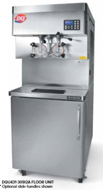 Stoelting DQU431 Ultra High Capacity Twin Twist CAB Pressurized Soft-Serve Ice Cream or Frozen Yogurt Freezer
